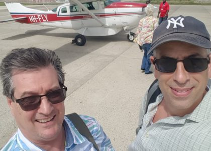 Frank Ditore's visit to Jeremie